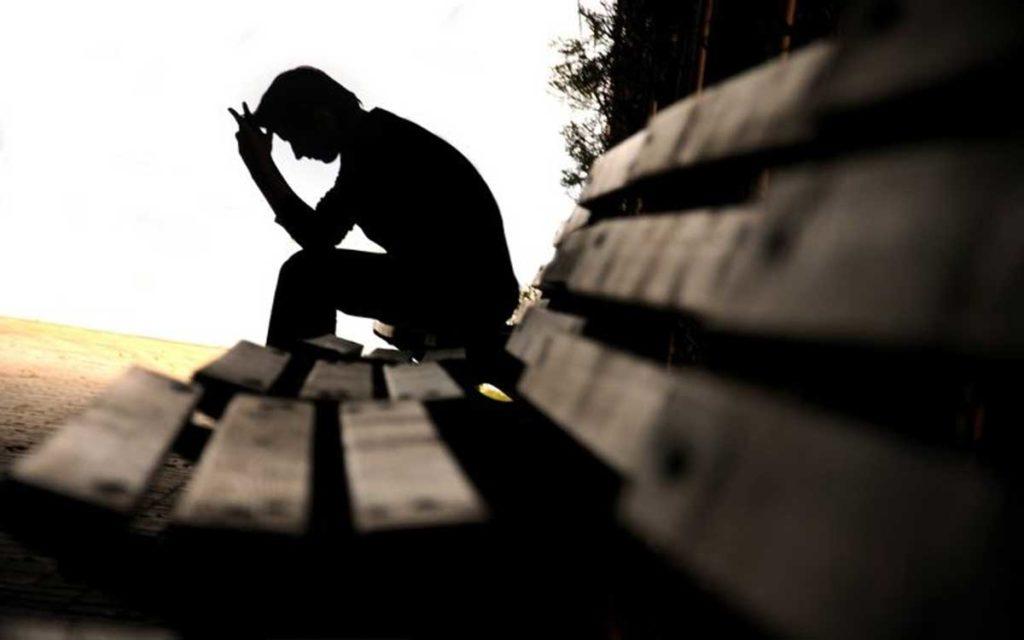 человек в печали