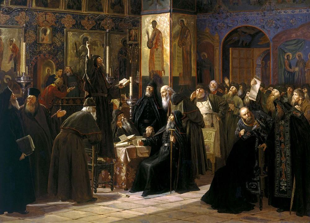 Соловецкий монастырь восстания