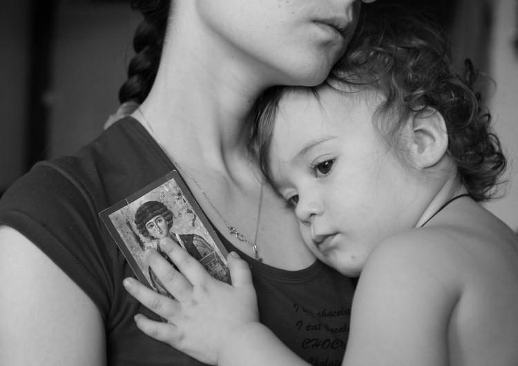 Во время болезни детей нужно уповать на помощь Божию